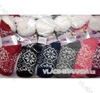 Ponožky teplé zateplené bavlnou dorost až dámské (35-38) LOOKEN 9125579