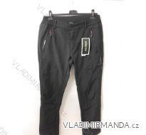 Kalhoty softshell zateplené flaušem dámské (m-2xl) 12313