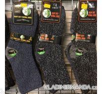 Ponožky teplé thermo bambusové zdravotní dámské (35-42) AMZF  PB4444
