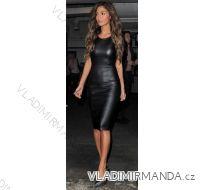 Šaty dámské  koženka  (s-l) VOYELLES IMT181290