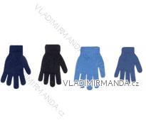 Rukavice teplé zimní dětské dorost chlapecké (14-16-18cm) YOCLUB POLSKO R-104