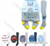 Punčocháče kojenecké dívčí chlapecké (56-86) YO RA-03