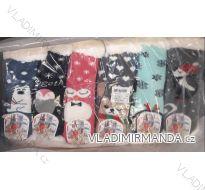 Ponožky zateplené bavlnou dětské (27-38) VIRGIN NA0838