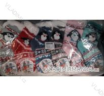 Ponožky zateplené bavlnou dětské (27-38) VIRGIN NA0825-1