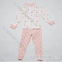Pyžamo dlouhé kojenecké dětské dívčí (86-104) WOLF S2851