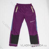Kalhoty šusťákové  zateplené fleecem dětské dívčí a chlapecké (98-128) WOLF B2874