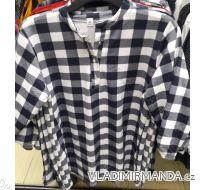 Tričko kostkované dámské (L-3XL) Polská móda  PM119007