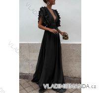 Šaty dlouhé   dámské   (uni s-l) ITALSKá MóDA IMT19023