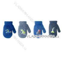 Rukavice palčáky strečové dětské dorost chlapecké (10-12-14-16cm) YOCLUB POLSKO R-017/10CM