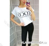 Tričko coco krátký rukáv  dámské(uni s-l)  IMT184214