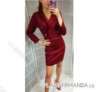 Šaty broušená koženka dámské (s-l)  ITALSKá MóDA IM9188855