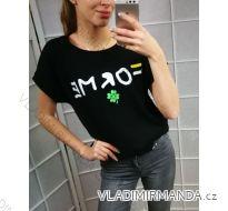Tričko for me krátký rukáv dámské (uni s-l) Turecká MóDA IMT194218