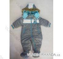 Kombinéza zimní kojenecká chlapecká (56-86) LS EAST JK063B