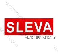 Banner SLEVA 330x990 mm UNI V3399c