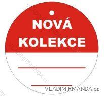 Visačky nová kolekce, BALENÍ 100 KS V58k