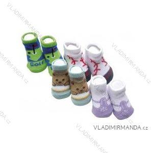 c64625b902c Ponožky kojenecké multipack 4 páry v balení v dárkové krabičce (0-12 měsíců)