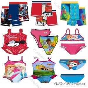 Plavky disney dětské dívčí (2-8let) ST LICENS ST04