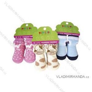 Ponožky kojenecké balené nožička (0-6 měsíců) NOVIA 138PA
