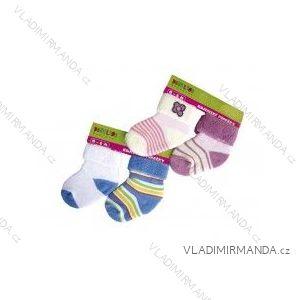 Ponožky kojenecké froté 2 pary (0-6 měsíců) NOVIA 139PA