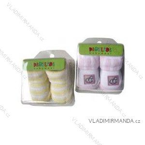 Ponožky kojenecké v dárkové krabičce (0-6 měsíců) NOVIA 137PA