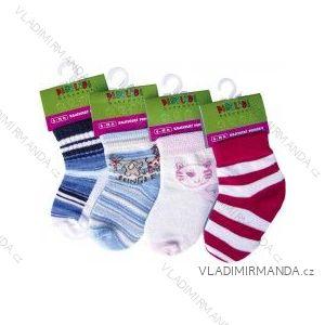 Ponožky kojenecké vzor (6-12 měsíců) NOVIA 143PBA