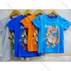 Tričko krátký rukáv dětské chlapecké bavlněné (98-134) VOGUE IN 75204