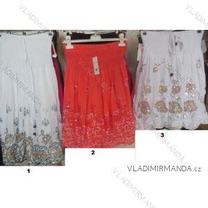 Šaty letní bez ramínek dámské (l-2xl) LISHA 828L