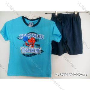Pyžamo krátké dětské a dorost chlapecké (110-146) FOCUSE 55-134C