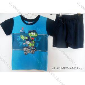 Pyžamo krátké dětské a dorost chlapecké (110-146) FOCUSE 55-130C