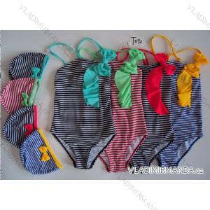 Plavky jendodílné dětské dorost dívčí (122 - 164) SEFON T092