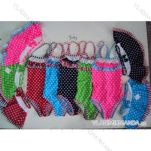 Plavky jendodílné dětské dorost dívčí (122 - 164) SEFON T093P