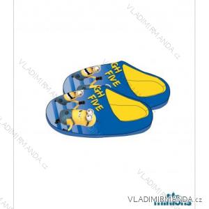 Pantofle mimoni dětské a dorostenecké chlapecké (25-31) TV MANIA 140000