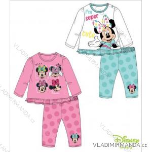 Tričko dlouhý rukáv a legíny minnie mouse kojenecké dívčí (6-24měsíců) TV MANIA 140137