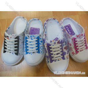 Pantofle botaskové dorostenecké dívčí (30-35) MINKE OBUV 6732