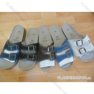 Pantofle pánské koženkové (41-46) MINKE OBUV 0911