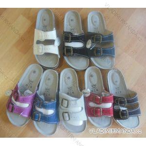 Pantofle dámské koženkové (36-41) MINKE OBUV 0912