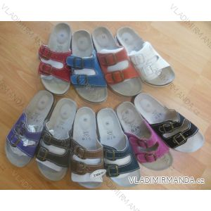 Pantofle dámské kožené (36-41) MINKE OBUV 0913