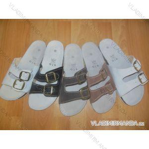 Pantofle pánské kožené (41-46) MINKE OBUV 0914