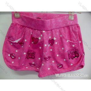 Kraťasy šortky letní dětské dívčí (98-128) SAD CH-3129