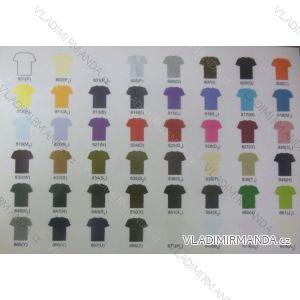 Tričko krátký rukáv dětské dívčí a chlapecké bavlněné (110-140/černá) BLOSSOM BL14