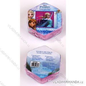 Magický ručník na obličej frozen dětský dívčí bavlněný (30*30 cm) SETINO 820-860