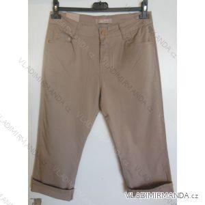 Kalhoty plátěné 3 4 krátké dámské (38-48) SMILING JEANS N467 1a2dede7f5