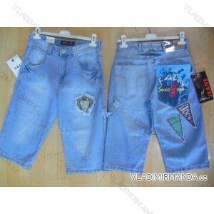 Kalhoty 3/4 pánské riflové (29-38) SAC SC7785