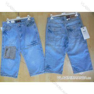 Kalhoty 3/4 pánské riflové (29-38) SAC SC7782