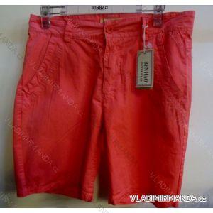 Kraťasy šortky plátěné bavlněné dámské (l-3xl) BENHAO BH14-63-OP125