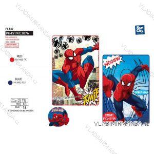 Deka přikrývka spiderman dětská chlapecká (100*150 cm ) SUN CITY PH4519