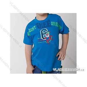 Tričko krátký rukáv dětské chlapecké (100-130) CALVI-COONOOR 16-121