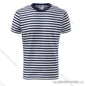 Tričko sailor krátký rukáv unisex námořnické pruhované (xs-xxl) REKLAMNí TEXTIL 803A