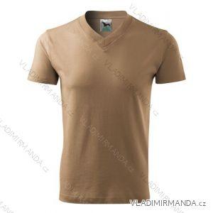 Tričko v-neck krátký rukáv unisex (s-xxl) REKLAMNí TEXTIL 102A