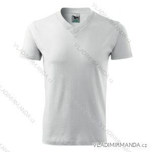 Tričko v-neck krátký rukáv unisex (s-xxl) REKLAMNí TEXTIL 102B